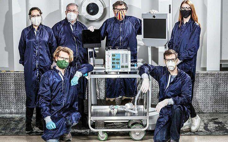 Η NASA μέσα σε 37 μέρες κατασκεύασε μηχανικό αναπνευστήρα – News.gr